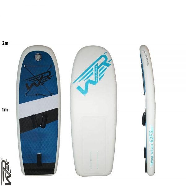 Aufblasbares SUP Board für Wingriding