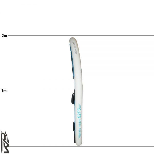 Aufblasbares SUP Board zum Wingriding und Foiling