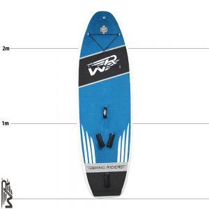 Inflatable Foil Board auch für SUPsurfing