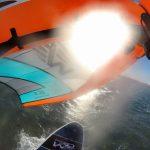 Wingriding mit SUP-FOIL und WING