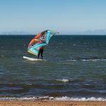 Wingsurfen mit aufblasbaren SUP-Boards