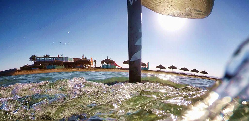Carbon Foil mit Alumast für SUP, SURF und WING