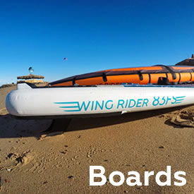 Wingboards - inflatable Wingfoilboards