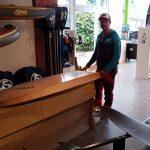 WINGRIDER SHOP mit Echtholz Board von HolzBrett