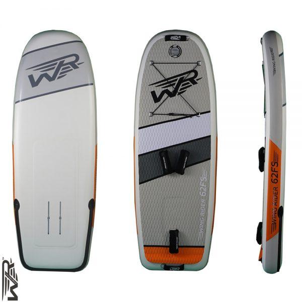 Aufblasbares Wingfoiling Board von Wingrider 62FS