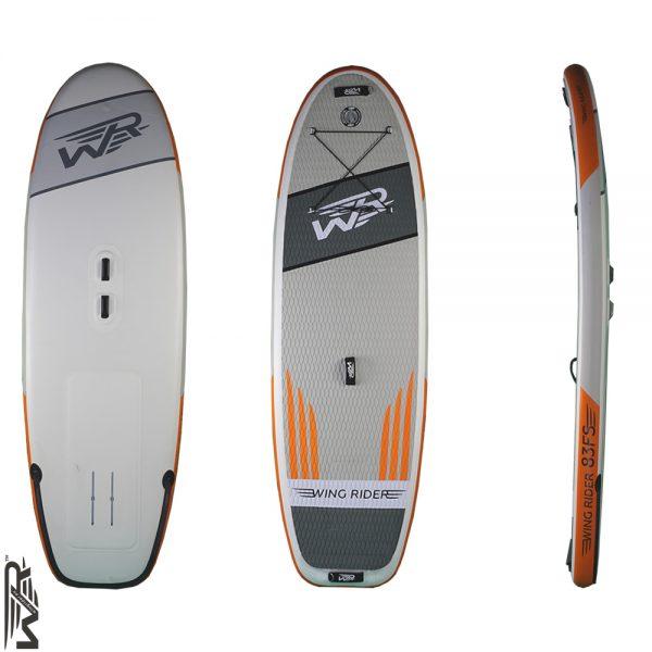 Aufblasbares Wingrider Board zum Foilen 83 FS