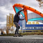 Longboarding Wingskating Wingfoiling
