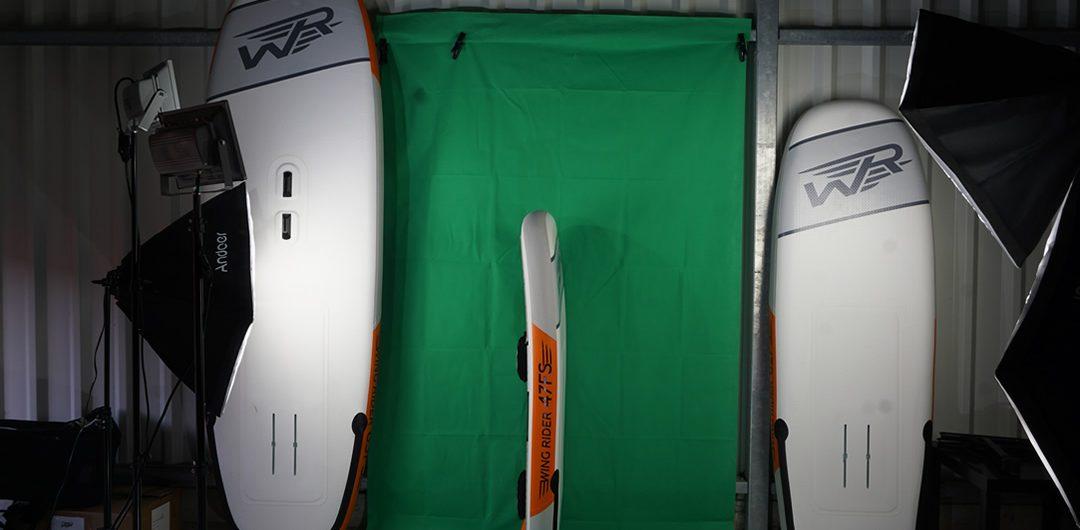 Fotoshooting Wingrider