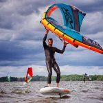 Wingfoiling - bestes Foilboard für Wingriding
